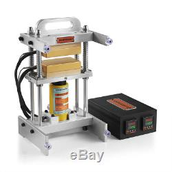10 Ton Small Driptech Hydraulic Rosin Press 3x5 Dabpress Tech Heat Plates Kit
