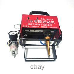 10020mm Portable Pneumatic Dot Peen Marking Machine for VIN Code Chassis Number