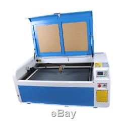 100W 1000600 MM CO2 Laser Cutting Machine Laser Engraver CW3000 Chiller US Ship