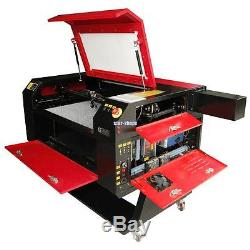 100W C02 Tube USB Laser Cutter Engraver Cutting Engraving Machine with Water Pump