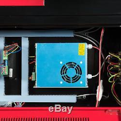 100W CO2 Laser Cutter Engraver Engraving Machine 100w Laser Tube Water Pump
