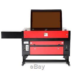 100W CO2 Laser Engraving Machine 28 x 20 With Rotary Axis Ruida Engraver Cutter