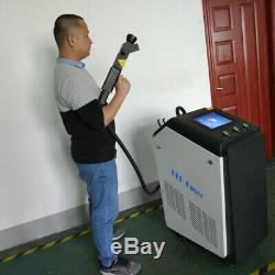 100W Industrial Mould Metal non-metal Surface Laser Cleaner Rust Removal Machine