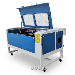 1060 Co2 Laser Cutting Machine With RECI 100W Co2 Motorized Up/down Feed Port