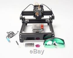 10W Desktop CNC Laser Engraving Cutting Machine DIY Metal Marking Wood Cutter