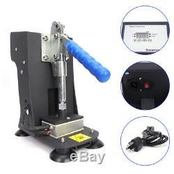 110V Rosin Heat Press Machine Dual Heating Elements Presser Oil Extractor 2x3