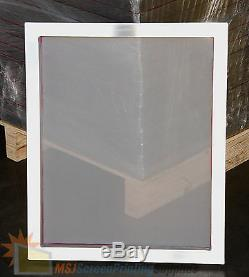 12 Pack 20x24 Aluminum Frame Size 110 White Mesh Silk Screen Printing Screen