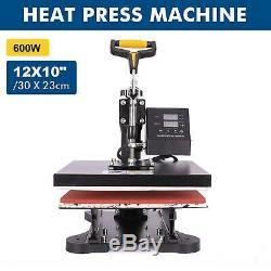12X10 Sublimation Transfer Printing Heat Press Machine For T-Shirt Printer