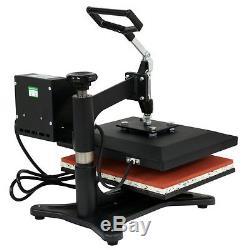 12x10 DIY DIGITAL Heat Press Machine For T-shirts HTV Transfer Sublimation US
