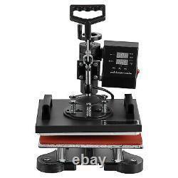 12x10 Digital Heat Press Machine T-Shirt Sublimation 360 Swing Away Transfer