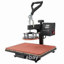 12x15 5-in-1 Heat Press Machine 360 Swivel Multifunction Industrial Press