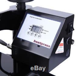 12x15 inch Swing Away Digital LCD Timer Heat Press Machine T-shirt Printer IDY
