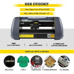 14 Vinyl Cutter Plotter Cutting Machine Kit withSignMaster Design Cut Software