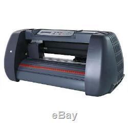 14 Vinyl Cutter Plotter Cutting Sign Maker Sticker Print Graphics LCD screen
