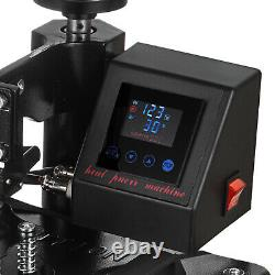 15 x 12 Digital Combo Heat Press Machine Transfer Sublimation T-shirt Hat