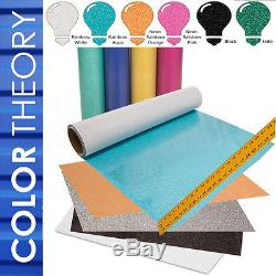 15 x 15 Auto-Opening Clamshell Heat Press + 6-Pack Glitter Heat Transfer Vinyl