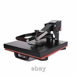 15'' x 15 Clamshell Heat Press Machine Digital Sublimation Transfer DIY T-shirt