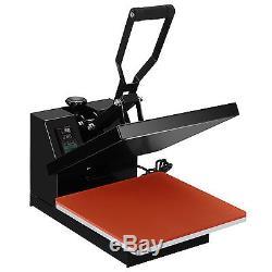 15 x 15 Digital Clamshell Heat Press Machine Transfer Sublimation T-shirt