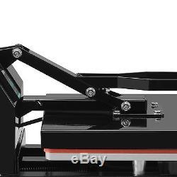 15 x 15 Digital Heat Press Teflon Coated Clamshell T-shirt Transfer Machine