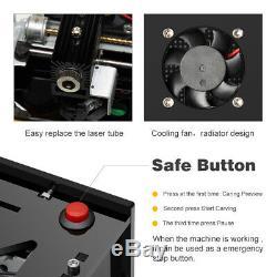 1500MW Laser Engraver Machine Printer BT4.0 Metal DIY Engraving Cutter Cube TOOL