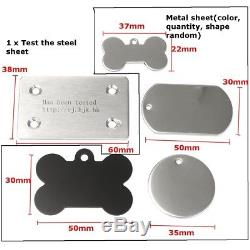 15W CNC Laser Engraver Metal Stone Wood Engraving Marking Machine Image Printer