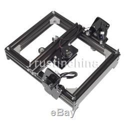 15W Mini Laser Engraving Machine Metal Steel Iron Stone Engraver DIY Printer US