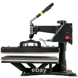 15x15 5IN1 Combo T-Shirt Heat Press Machine Press 38x38cm Multifunctional