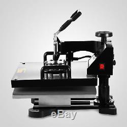 15x15 5IN1 T-Shirt Heat Press Transfer Kit Multifunctional Digital Swing Away