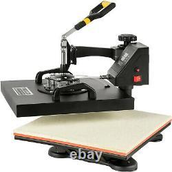 15x15 8IN1 Combo T-Shirt Heat Press Machine DIY Printer Cap Printing HOT