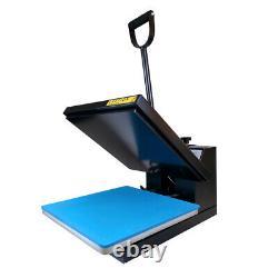 15x15 Clamshell Heat Press Machine Sublimation Digital Transfer for DIY T-Shirt