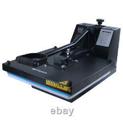 15x15 DIY Digital Clamshell T-Shirt Heat Press Machine Transfer Sublimation US