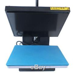 15x15inch Clamshell Heat Press Digital Machine Sublimation Transfer for T-shirt