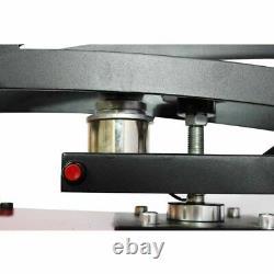 16 x 20 ClamShell Auto Open Heat Press Machine Vertical Version Slide Out