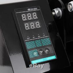 16x24 Clamshell Heat Press Machine Sublimation Transfer T-shirt Hat Cap Plate