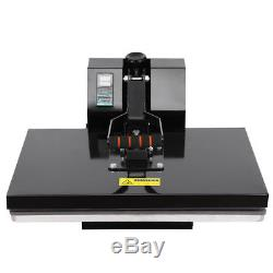 16x24 Clamshell Heat Press Machine Sublimation Transfer T-shirt Print LCD Timer