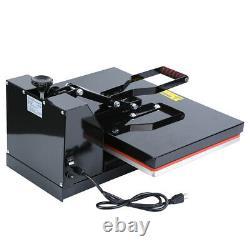 16x24 Clamshell Heat Press Transfer T-Shirt Paint Sublimation Machine Ridgeyard