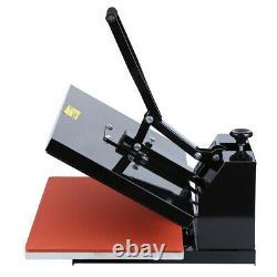 16x24 Ridgeyard Clamshell Heat Press Transfer T-Shirt Sublimation Machine