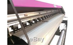 1830mm 72 Large Format Printer ECO Solvent +RIP, Wide Banner Vinyl Outdoor XP600