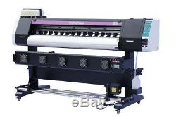 1830mm 72 Large Format Printer ECO Solvent +RIP, Wide Banner Vinyl Wraps Outdoor