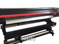 1850mm 72 Large Format Printer ECO Solvent DX5+RIP, Wide Banners Vinyls Outdoor