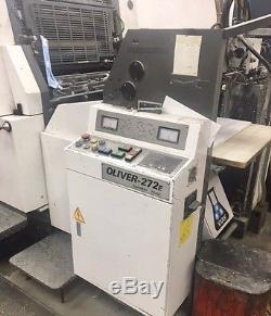 1993 Sakurai 272E Straight 2-Color Printing Press 75 million imps Heidelberg