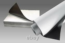 20% Off A4/1m/5m/10m Rolls of Flexible Magnetic Sheeting Many Sizes And Grade