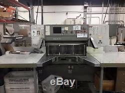 2000 Polar 115E Guillotine Paper Cutter