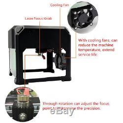 2000mW Mini Laser Engraver DIY Mark Printer Cutter Carver Engraving Machine USB