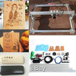 2000mw 65x50cm DIY Laser Engraving Machine CNC Desktop Wood Logo Cutter Engraver
