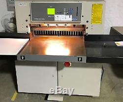 2001 Challenge Champion 305 XD Hydraulic Progammable Paper Cutter 30-1/2 Polar