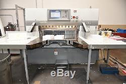 2007 Polar 115x Paper Cutter & 2007 Polar Jogger Combo Set