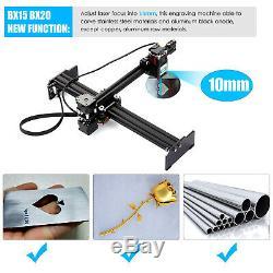 20W High Speed Lase r Engraving Machine Mini Desktop Engraver Printer Craft DIY