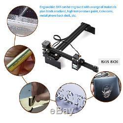 20W High Speed Laser Engraving Machine Desktop Engraver Printer Art Craft DIY