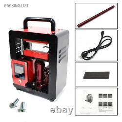 220V Hydraulic Rosin Tech Heat Press Machine 5Ton Dual Heating Plates 2.4x4.7'